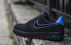 "Nike Air Force 1 Low ""Black & Photo Blue"""