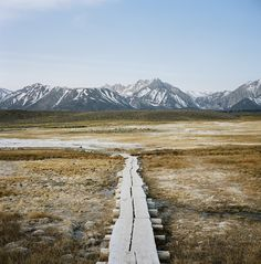 Walkway to hot springs. Photo by Foster Huntington. #MeetTheMoment