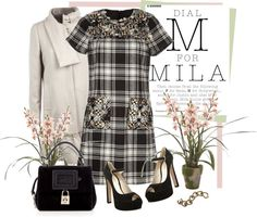 """""""Dress by Anna Sui"""" by fashionmonkey1 ❤ liked on Polyvore"""