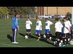 Soccer Training - Warm Up Drills 3 - YouTube
