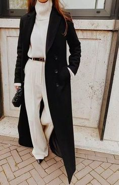 3 CHIC Street Style Outfits To Copy This Winter - Mode outfits - Hybrid Elektronike Looks Chic, Looks Style, Komplette Outfits, Fashion Outfits, Fashion Trends, Fashion Ideas, Black Outfits, Fall Winter Outfits, Autumn Winter Fashion