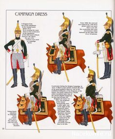 French; Imperial Guard, Dragoon(The Empress' Dragoons) Regt, Dragoons, Tenue de Campagne