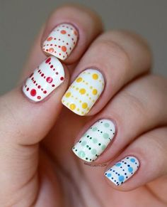 Simple, easy manicure