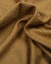 Wool Blend Jersey Fabric - Camel