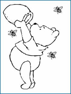 Pooh Coloring Pages for Kids