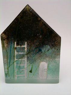 lead crystal sand cast glass