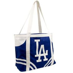 "MLB Los Angeles Dodgers Canvas Tailgate Tote by Pro-FAN-ity by Littlearth. $11.28. Littlearth's Officially Licensed Canvas Tailgate Tote is great at the beach, on day trips or a quick weekend bag! Measuring 15.5"" Length x 6"" Width x 13.5"" Height this large heavy tote is the perfect bag for your tailgating party. Made of 100% Cotton this 14oz canvas features over-sized team logo in center front of tote. Tote is Team color knit cotton canvas with contrasting acc..."