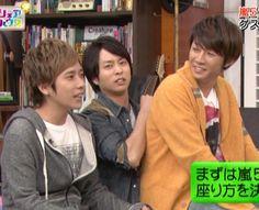 Nino × Sho × Aiba-chan
