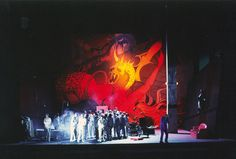 The Damnation of Faust. English National Opera. Scenic design by Roni Toren. 1997