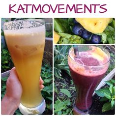 Juicing Vegetables & Fruit   I started with fresh made organic apple-lemon juice and turned it into a delicious fruit and veggie smoothie!  Just add your juice to: ✅2 handfuls of Spinach ✅2 chunks of Pineapple ✅1 cup of Blueberries ✅1 package of frozen Acai  ✅1 cup of ice  TO EXCEPTIONAL LOVE AND HEALTH! https://www.facebook.com/JUICING101 Katmovements