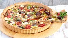 Videorecept: Mango poke šalát z čerstvého tuniaka Quiche, Vegetable Pizza, Mango, Tacos, Food And Drink, Pie, Bread, Cooking, Breakfast