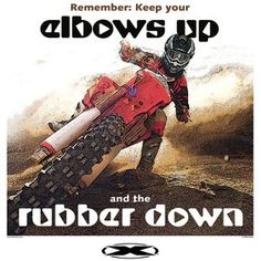 Motocross: Elbows Up Rubber Down #cars #carsandmotorcycles #vehicles