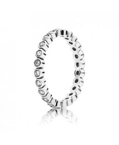 289d7130c Pandora Alluring Delicate Brilliant Ring Official Site Delicate, Pandora  Rings Stacked, Pandora Collection,