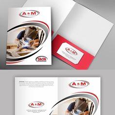 A new look for our presentation booklets Brochure contest design Estate Lawyer, Welding And Fabrication, Commercial Bank, Folder Design, Presentation Folder, Real Estate Development, He Is Able, Brochure Design, Tool Design