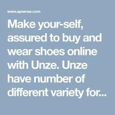 Make your-self, assured to buy and wear shoes online with Unze. Unze have number of different variety for all. Goa and get your fascinating choice with unze. Online Shopping Shoes, Shoes Online, Goa, How To Make, How To Wear, Dress Up, Number, Make It Yourself, Stuff To Buy