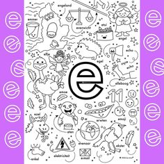 Teaching Letters, Letter K, Spelling, Emoji, Coloring Pages, Education, Learning, Fun, Instagram