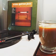 This album is so nice . Buddy Emmons / Steel Guitar Jazz / 1963 reissued 2008 #rega #recordjunkie #recordcollection #sundazed #coffeeandjazz