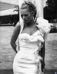 Kate Moss Fashion Editorials: W Magazine February 2005