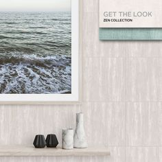 The Zen Collection - a collection of neutral tiles - is born out of an appreciation for one of nature's most subtle colour palettes. Johnson Tiles, Your Space, Ash, Neutral, Minimalist, Inspired, Inspiration, Collection, Gray