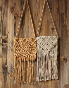 Macrame Projects, Yarn Projects, Crochet Projects, Macrame Purse, Macrame Cord, Macrame Patterns, Crochet Blanket Patterns, Macrame Wall Hanger, Sashiko Embroidery