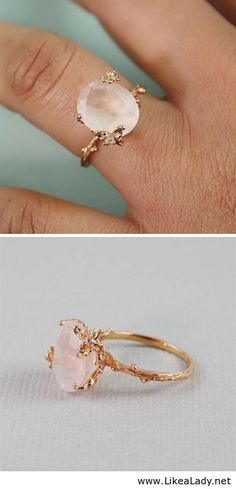 Such a simple yet beautiful ring