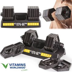Dumbbells are a great way to build muscle mass, there are tons of exercise type, not only for biceps as one might think. Having an adjustable set helps you to steadily progress in your exercise Best Adjustable Dumbbells, Adjustable Dumbbell Set, Adjustable Weights, Best Rated, Top Rated, Workout Rooms, Workout Routines, Build Muscle Mass, Training Programs