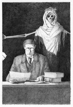 M.R.James Illustrations - Google Search