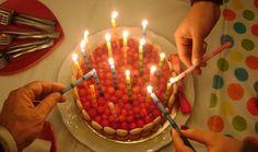Raspberry cake Raspberry Cake, Birthday Candles, Hipster Stuff