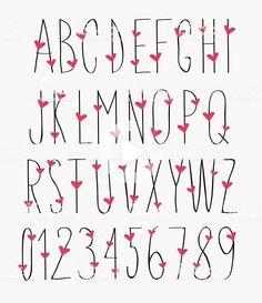 Handwriting Alphabet, Hand Lettering Alphabet, Doodle Lettering, Creative Lettering, Lettering Styles, Lettering Design, Alphabet Fonts, Bullet Journal Alphabet, Bullet Journal Writing