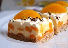 Desserts Recipes Nut cake with peach cream Ice Cream Desserts, Cookie Desserts, Chocolate Desserts, No Bake Desserts, Chocolate Chip Cookies, Cheesecake Cookies, Keto Cheesecake, Easy Cookie Recipes, Cupcake Recipes