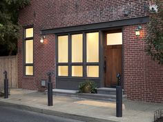 Image result for exposed steel brick lintel