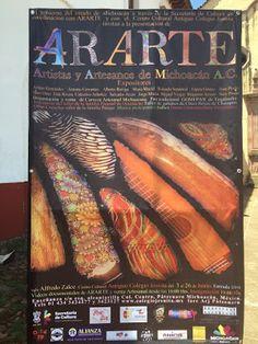Ararte una exposición de Artistas y Artesanos de Michoacán en el Centro Cultural Antiguo Colegio Jesuita en Pátzcuaro