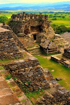 The Mayans ruins in Tonina in Chapas, Mexico