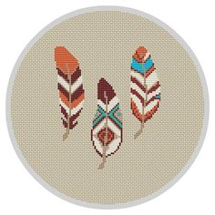 Feather Cross Stitch Pattern Wall Decor Feather Decor Bohemian Bedroom Decor Boho Bedroom Decor Tribal Pattern Wall Decor Bedroom Feather Cross Stitch Pattern Wall Decor Feather Decor by Xrestyk Cross Stitching, Cross Stitch Embroidery, Cross Stitch Patterns, Embroidery Patterns, Counted Cross Stitches, Pattern Wall, Wall Patterns, Motifs Perler, Bohemian Bedroom Decor