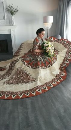 Tongan Wedding Dress made of Tapacloth Bride: Sela Feifononga Designers: Lavelua Woffinden & Lomekina Tuionuku