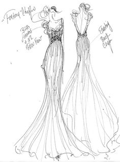 1000 images about wedding gown sketches on pinterest
