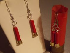 Shotgun shell jewelry  Bullet Earrings  Shell by AnnieGetUGun