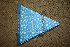 Blue Floral Party Banner Wedding Banners Special by Crickettes