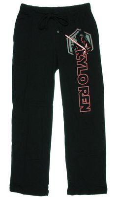 Star Wars Episode VII Kylo Ren Graphic Sleep Lounge Pants