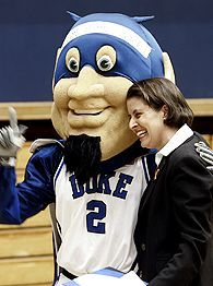 At Duke, Joanne P. McCallie takes over a program that has done so much in recent years that anything less than an NCAA title will not be considered good enough.
