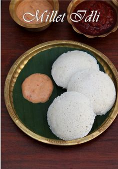 """Looks like Millets are the """"In thing"""" now a days. I have seen so many millet re. Oatmeal Recipes, Vegan Breakfast Recipes, Millet Recipe Indian, How To Cook Millet, Tiffin Recipe, Millet Recipes, Idli Recipe, Indian Breakfast, Indian Dishes"""