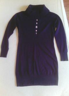 Kup mój przedmiot na #vintedpl http://www.vinted.pl/damska-odziez/swetry-z-golfem/10143761-sweter-tunika-z-nie-wysokim-golfem