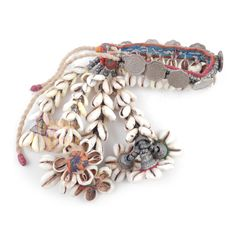 Fancy Gujarati Shell Armband : Origin Banjara - TribalSouk.com - Authentic Tribal Jewelry & Textiles