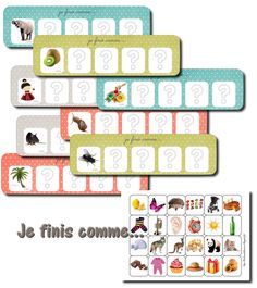 Jouons avec les rimes et les attaques French Language Lessons, French Kids, Jobs For Teachers, Phonological Awareness, Folder Games, Pre Writing, Busy Bags, Home Learning, Educational Activities