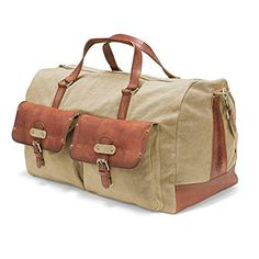 DRAKENSBERG Kimberley Long Weekender, extra-large travel bag, holdall, carry-all, canvas, buffalo leather, safari-style, http://www.amazon.co.uk/dp/B00VEQZUKY/ref=cm_sw_r_pi_awdl_x_C46YxbQ5MFND4