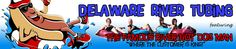 Delaware River Tubing, Rafting, Canoeing, and Kayaking.  Allowed to bring own Kayak with 15.00 for the shuttle service