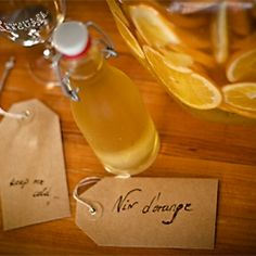 Vin d'orange (orange wine) - a soul warming, homemade Christmas gift