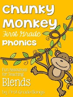More essential phonics skills from my Chunky Monkey Phonics unit! (scheduled via http://www.tailwindapp.com?utm_source=pinterest&utm_medium=twpin&utm_content=post104115465&utm_campaign=scheduler_attribution)