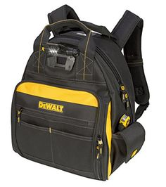 DEWALT DGL523 Lighted Tool Backpack Bag, 57-Pockets DEWALT https://www.amazon.com/dp/B00QNTVVOG/ref=cm_sw_r_pi_dp_x_hjUsybMEGYKS6
