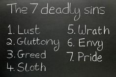 7 deadly sins in The Odyssey